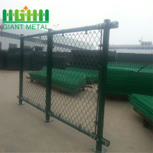 Galvanized cyclone wire mesh fence