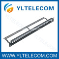 24port Blank Patch Panel with Cable Manager