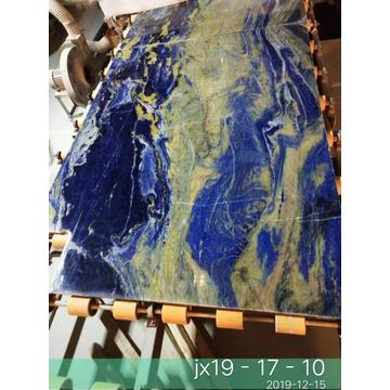 blue sodalite granite stone slab