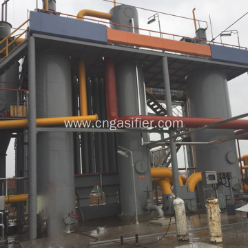 Supply  wood chip gasifier equipment for syngas