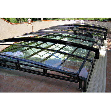 Screens Swimming Prefabricated Glass Pool Winter Cover