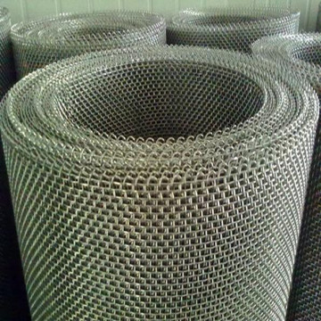 Hot Dipped Galvanized Wrap Edges Crimped Mesh