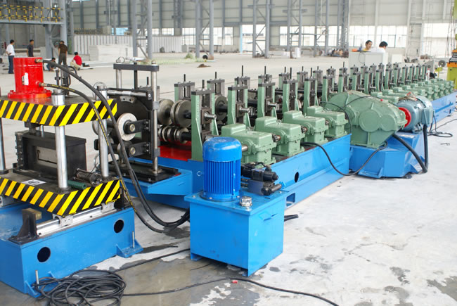 Galvanized Steel Scaffold Pedal Panel Roll Forming Machine