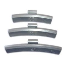 Zinc Clip-on Balance Weight for Aluminum Wheel (IAW type)