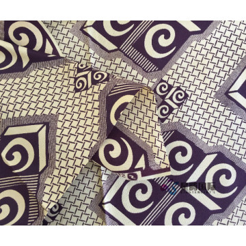 100% Cotton African  Batik Cloth Fabric