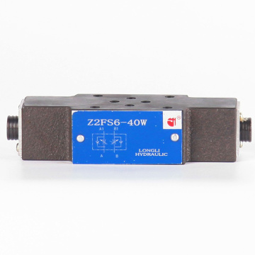 Z2FS6 Hydraulic Throttle Check Flow Control Valve