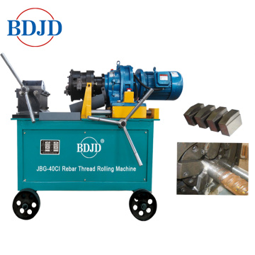 Electric Motor Driven Steel Rod Splicing Parallel Thread Rolling Machine used in Construction