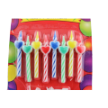 Party Time Spiral Heart Birthday Candles