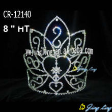 Rhinestone Large Custom Pageant Crowns