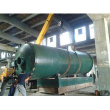Best quality and factory for Waste Tyre Pyrolysis Machine new cooling system design tire pyrolysis machine export to Mayotte Manufacturers
