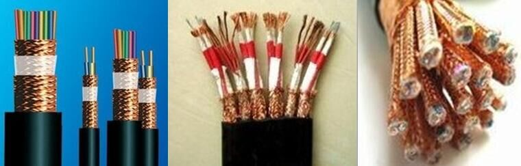 BRAIDED COPPER WIRE SCREED CONTROL CABLE