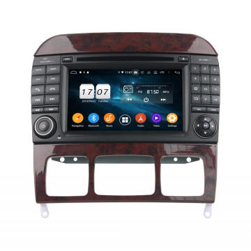 Car dvd with gps bluetooth for Mercedes-Benz S-Class