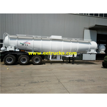 19cbm Steel H2SO4 Delivery Tank Trailers