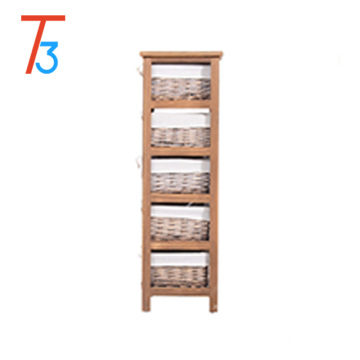 Home practical wooden tool cabinet locker to send multiple drawers
