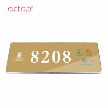 2018 LED hotel room electronic door number