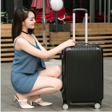 Cheap 4 wheel suitcase lightweight wholesale