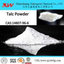 Non-poisonous pure talc powder for industrial use