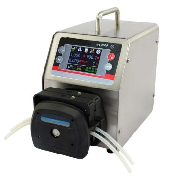Medical touch screen intelligent dispense peristaltic pump