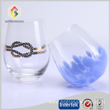 High Quality for Glass Double Wall Tumbler new designed drinking glass cup whiskey glasses export to Christmas Island Manufacturers