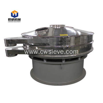 Fully enclosed vibrating sifter for milk powder