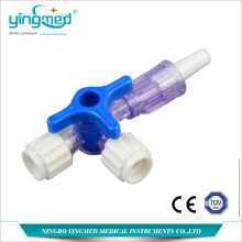 Factory Free sample for Disposable Infusion Set Medical Disposable Plastic Three Way Stopcock supply to Saint Vincent and the Grenadines Manufacturers