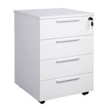4 drawer steel mobile pedestal file cabinet