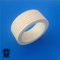 high precision alumina ceramic sleeve bushing threaded bolt