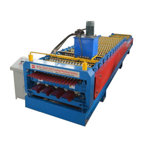 IBR Corrugated Roof Sheet Double Layer Forming Machine
