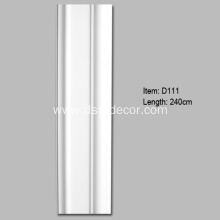 Fast Delivery for Door Mouldings Interior Pilaster Columns with 9.3cm Width supply to Portugal Importers