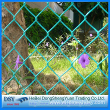 PVC Coated Wire Mesh Chain Link Fence