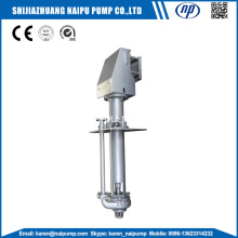 Vertical centrifugal sump pumps