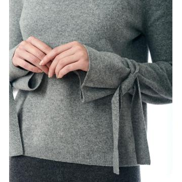 The Tie Sleeve Sweater