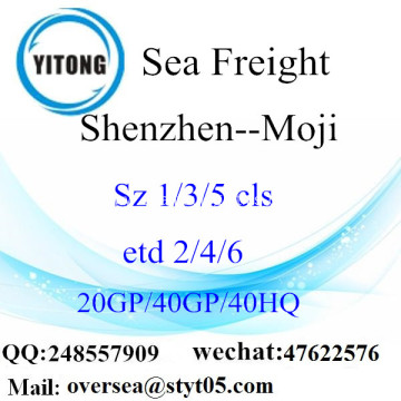 Shenzhen Port Sea Freight Shipping To Moji