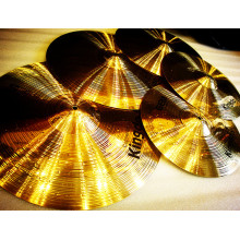 Professional for Copper Cymbals Traditional Brass Cymbals For Drums supply to Tokelau Factories