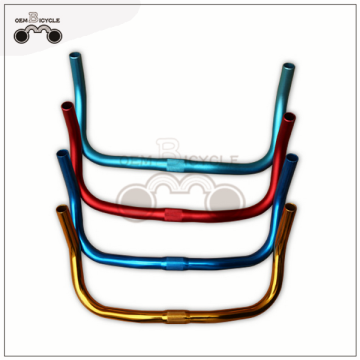 Colorful bullhorn handlebar Fixed gear bike handlebar