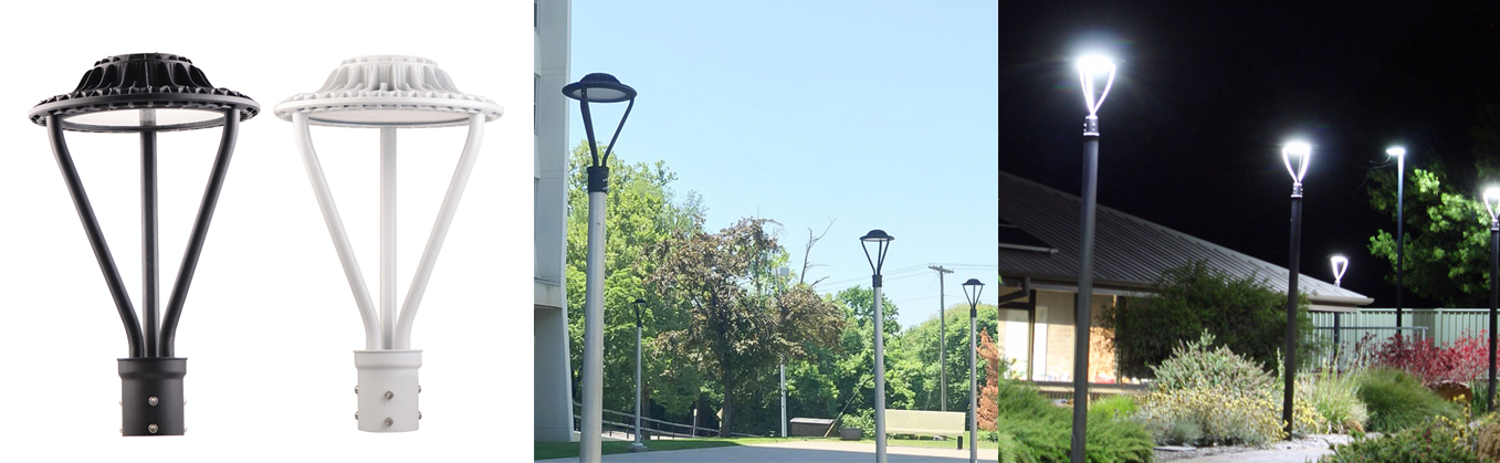 Led Lamp Post Heads (2)