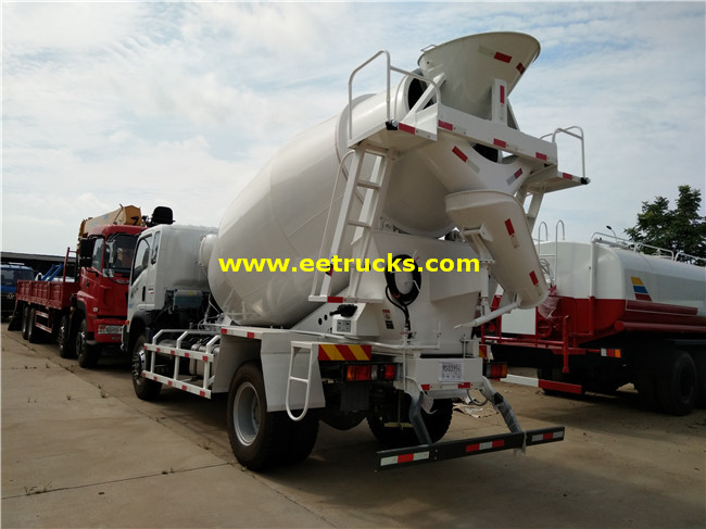 Concrete Mixing Vehicles