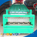 1008/1000 hydraulic color steel r panel cold roll forming machine