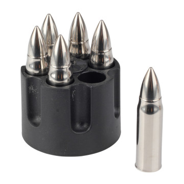 Bullet Shaped Whiskey Stones Set of 6