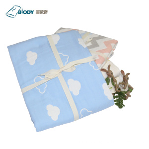 Professional Manufacturer for Multilayer Baby Blanket Warm Cartoon Printed Baby Swaddle Multilayer Blanket export to United States Suppliers