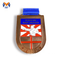 Custom karate martial arts medals metal wrestling medals