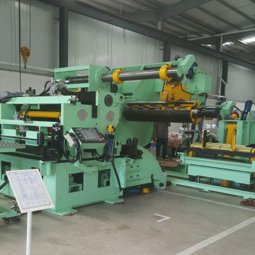 Automatic decoiler straightener feeder