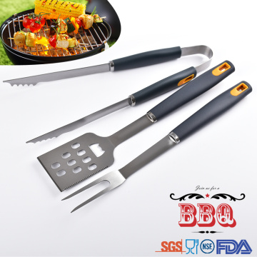 Easily cleaned stainless steel Barbecue Tools set