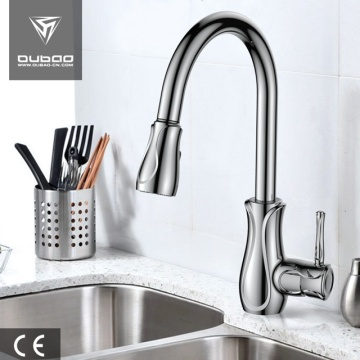 Modern Single Handle Pull Down Kitchen Faucets