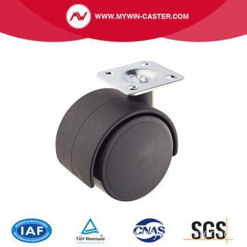 30mm PA Top Plate Furniture Caster