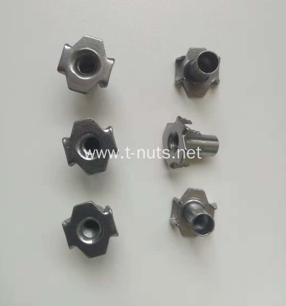 carbon steel zinc plated standard Tee nuts