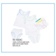 Discount Price Pet Film for Cotton Baby Suit Africa baby clothes/baby suits export to Romania Exporter