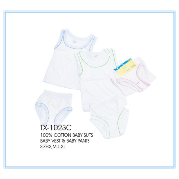 comfortable kids clothes vest and pants