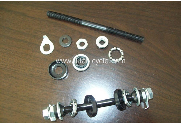 Bicycle Front Axle Bike Spindle