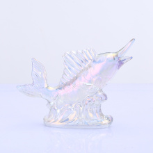 Ion Plating Fish Decoration Crystal Glass Decorations